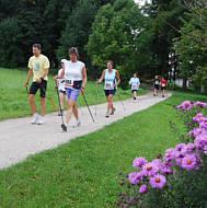 Nordic Walking Wettbewerb beim Fränkischen Schweiz Marathon 2008